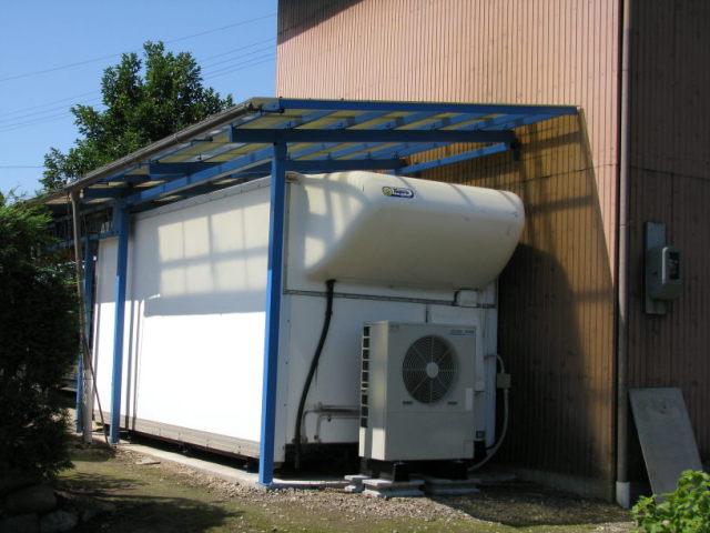 お米の低温倉庫